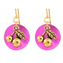 Bright Cherry Earrings