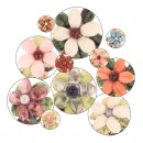 Floral Hair Clips - SET OF 2
