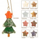 Sparkling Spruce Christmas Tree Earrings